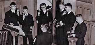 RRU Hatley Castle Cadet Bell ringers