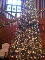 RRU Hatley Castle Christmas tree